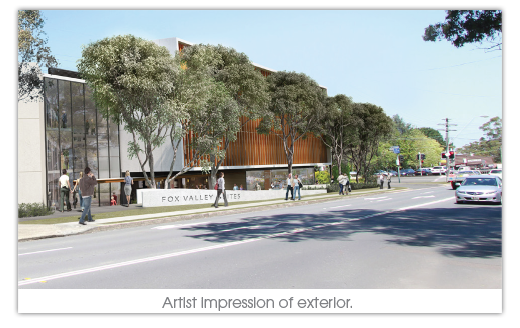 The San Redevelopment Artist impression perspective - marketing by Wright Creative